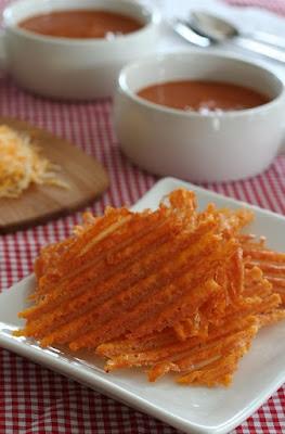 oven baked zesty cheddar crisps