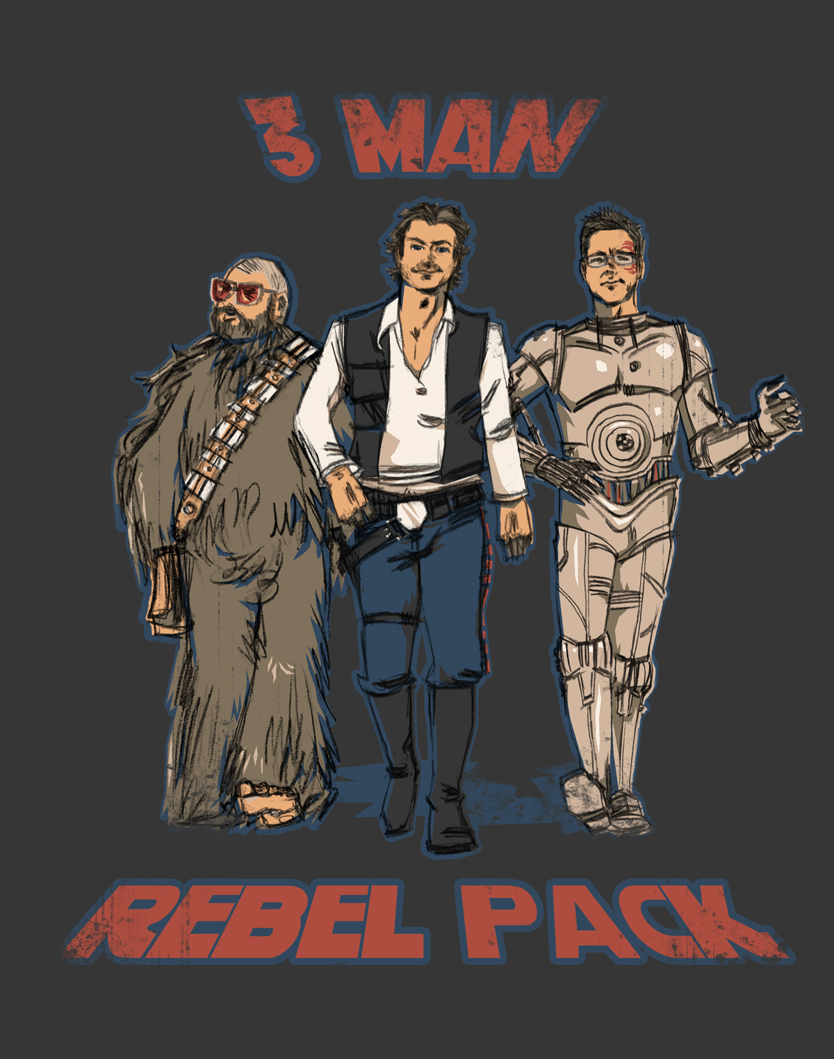 3 Man Rebel Pack