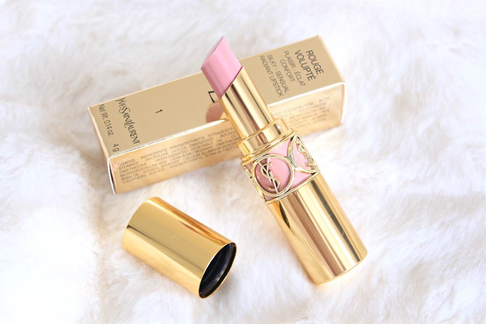 YSL Rouge Volupte Lipstick No1 Nude Beige
