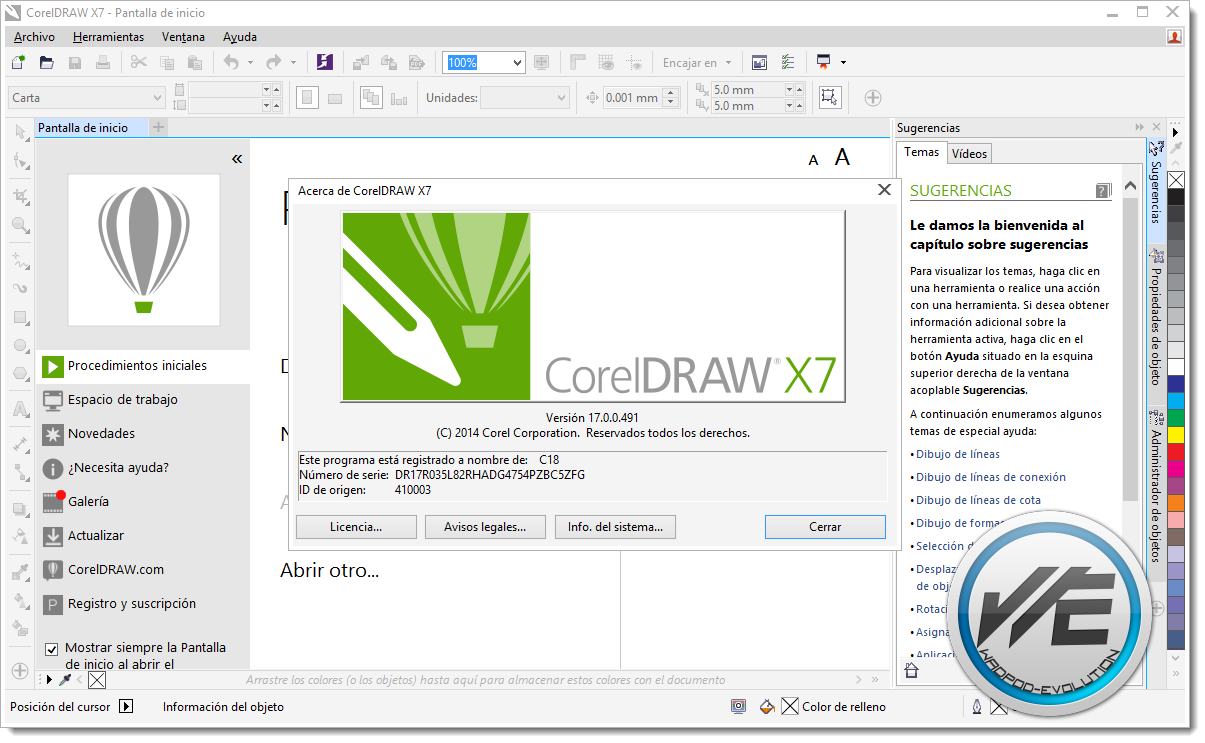 ... Install CorelDraw Graphic Suite X7 Full Activation - System of a Down