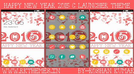 happy new year 2015 c launcher theme for nokia x nokia xl samsung samsung galaxy samsung star google google nexus sony xperia q mobile htc huawei