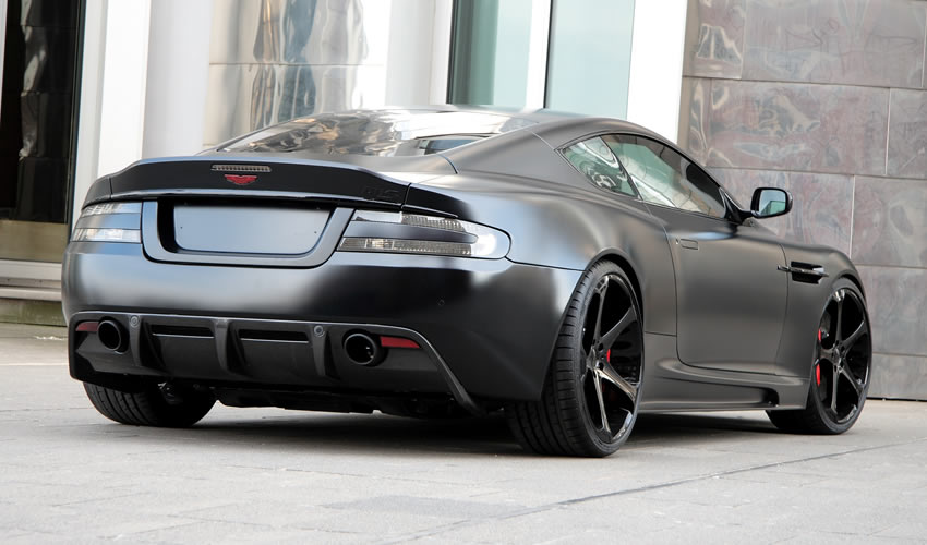 Aston Martin DBS Black Matte by Anderson |NEW CAR|USED CAR REVIEWS PICTURE