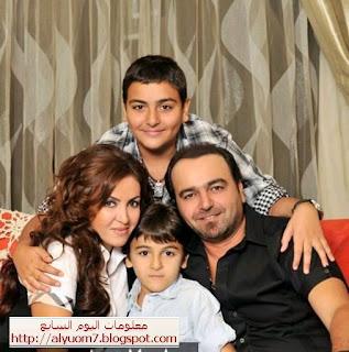 صور الفنانين العرب والمصريين مع أبنائهم وبناتهم.