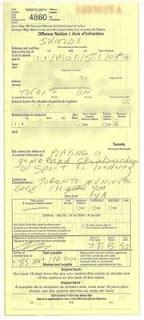 Traffic ticket for skateboarding in Toronto