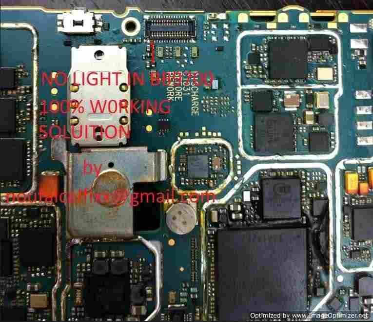 scheme to repair Blackberry 9700 ( ONYX ) - 9780 ( DELTA )