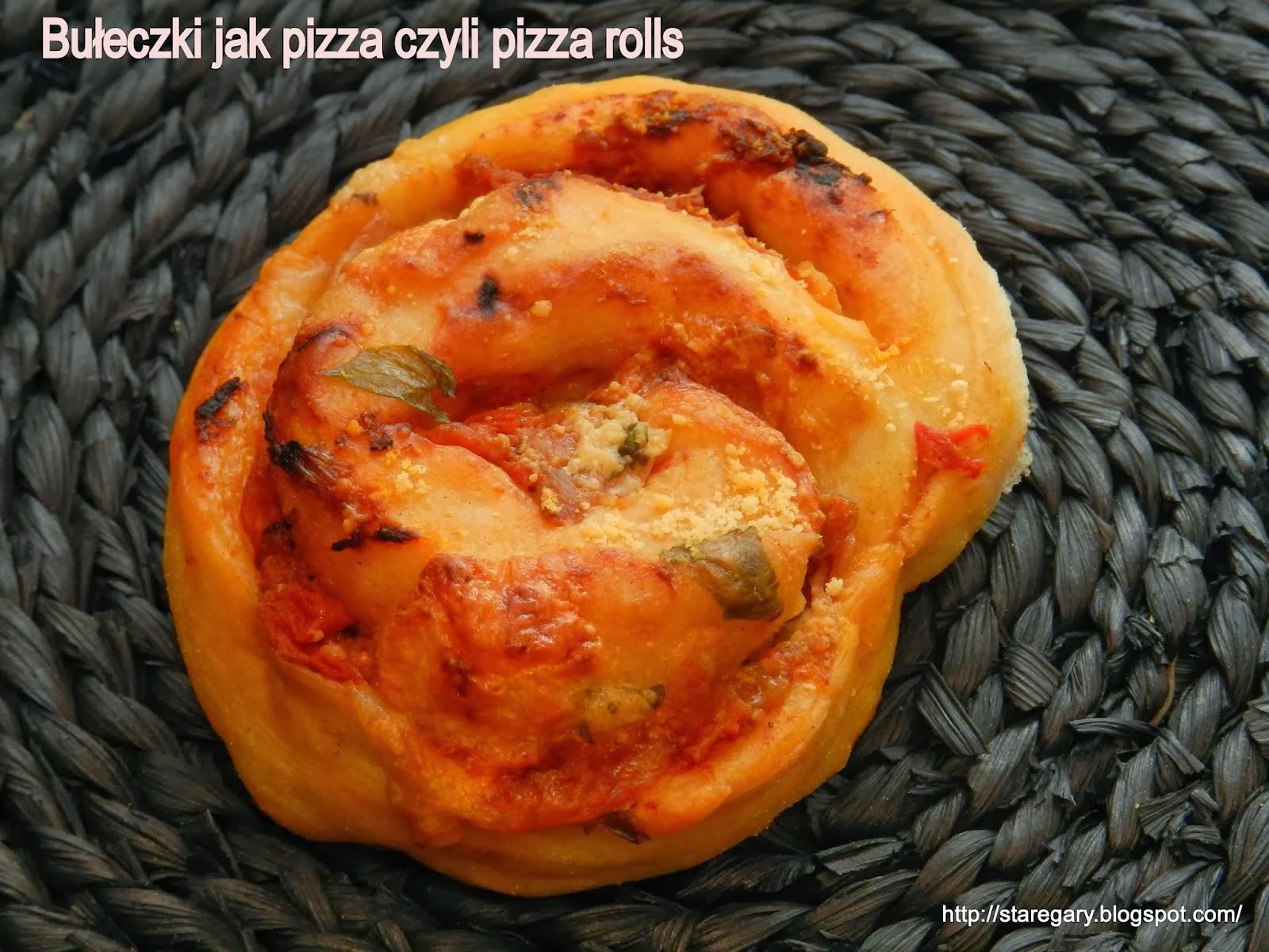 Bułeczki jak pizza czyli pizza rolls
