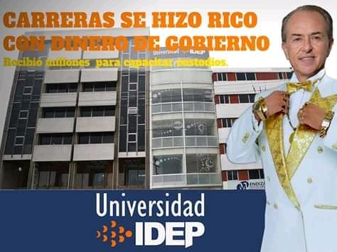 Los negocios corruptos de Juan Manuel Carreras