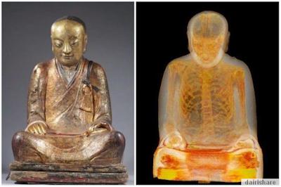 Yang Sangat Mengejutkan Tersembunyi Dalam Patung Buddha Ini (3 Gambar ...