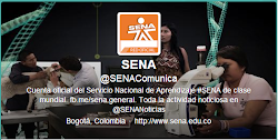 Síguenos Twitter Oficial: @SENAComunica