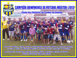 CAMPEÃO BONFINENSE 2013
