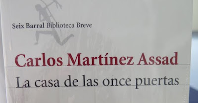 Reciente novela Carlos Martinez Assad