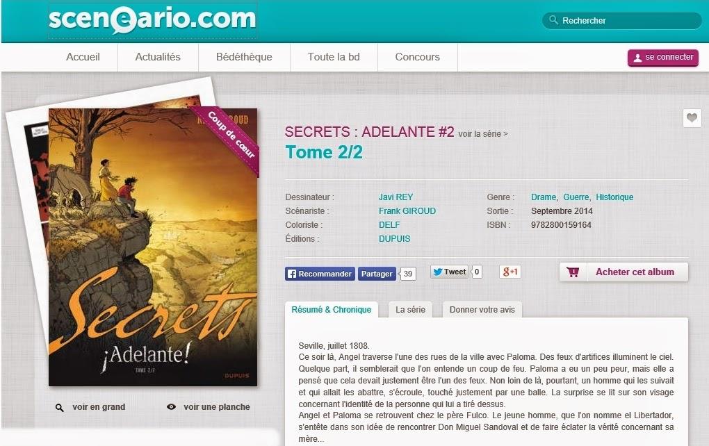 http://www.sceneario.com/bande-dessinee/SECRETS+ADELANTE+2-Tome+2+2-21947.html