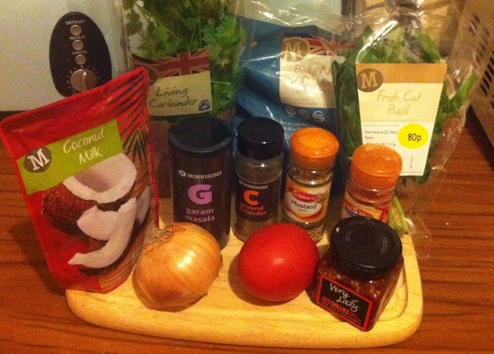 ...   UK Food Blog   Leicestershire : south indian style potato curry