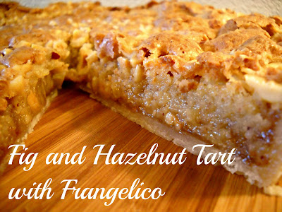 Recipe: Fig and hazelnut tart with Frangelico