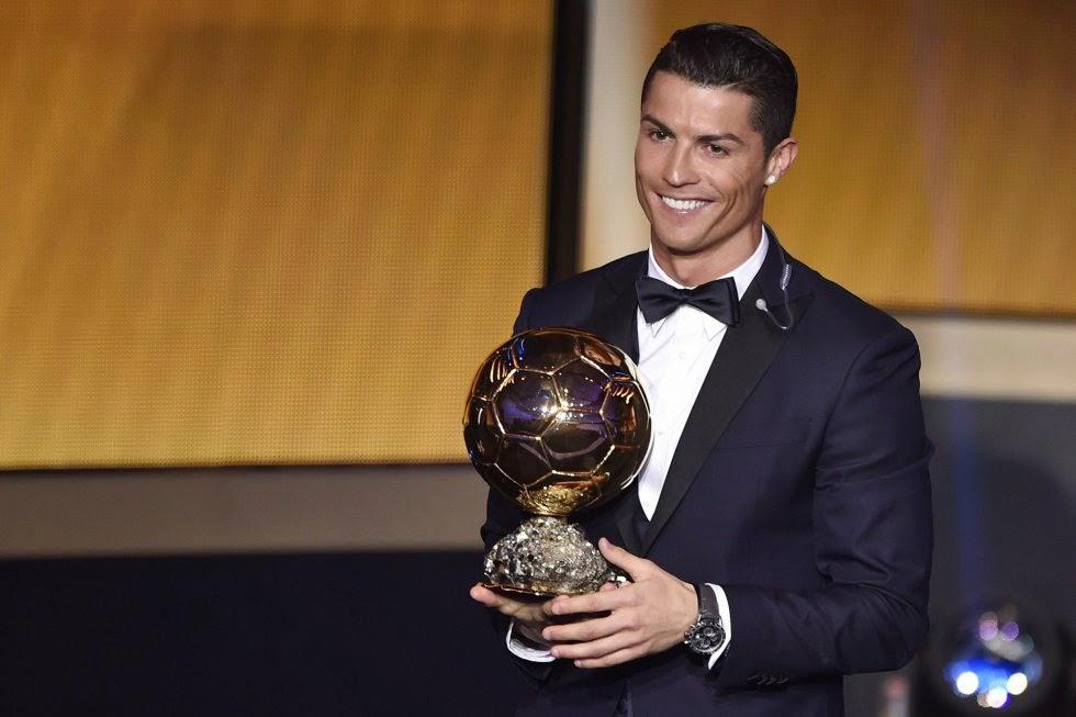 Cristiano Ronaldo 2014 FIFA Golden Ball winner
