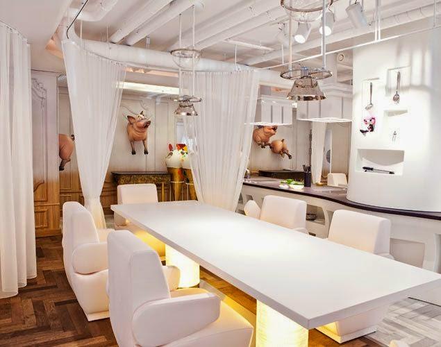 Restaurante Diverxo de David Muñoz: Una decoración de fantasía
