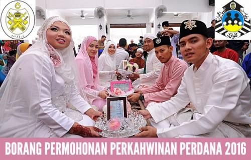 Borang Kahwin Perdana Terengganu