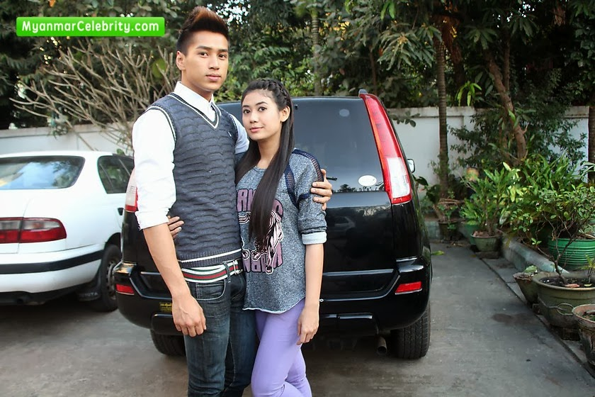 "Aung Ye Linn & Thinzar Wint Kyaw @ ""Hnike Sar Mae"" Movie Making"