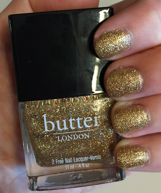 butter LONDON, butter LONDON West End Wonderland, nails, nail polish, nail lacquer, nail varnish, manicure, #ManiMonday, Mani Monday