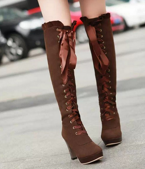 http://cuteharajuku.storenvy.com/products/9168109-sexy-bow-lace-up-knee-high-heeled-boots
