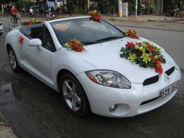 Xe cưới mui trần Mitsubishi Eclip