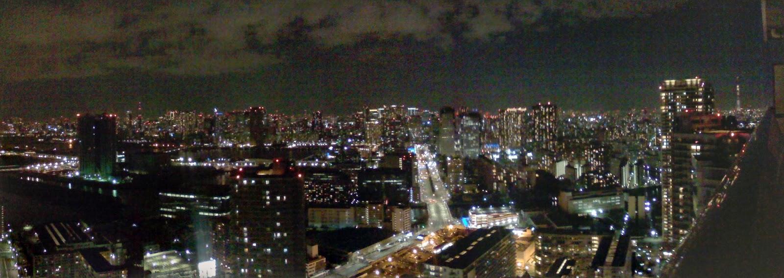 豊洲の夜景