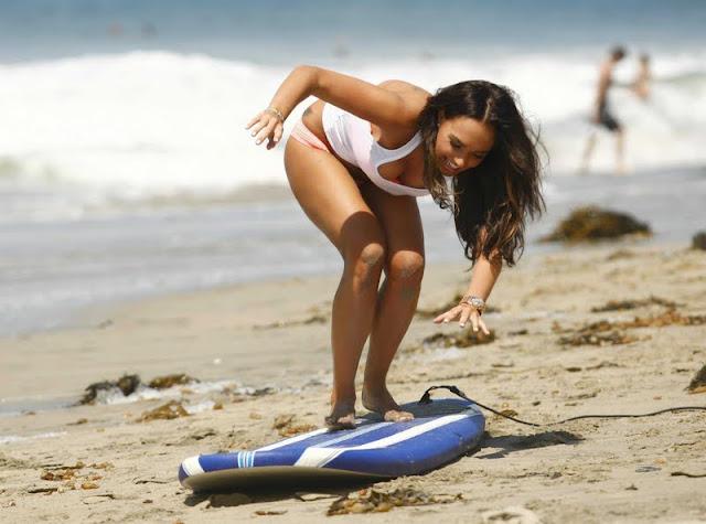 Tamara Ecclestone - Bikini Candids in Los Angeles
