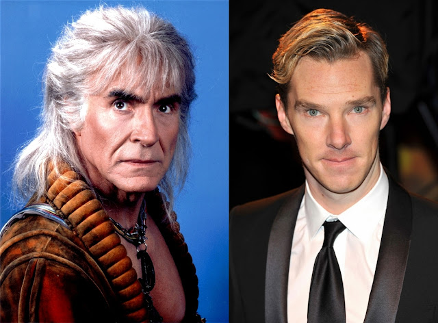 benedit cumberbatch and Khan