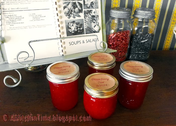 Home-made Strawberry Jam