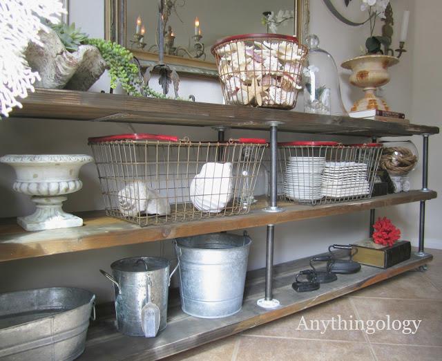 Scaffali Vintage in Stile Industriale - Inizio