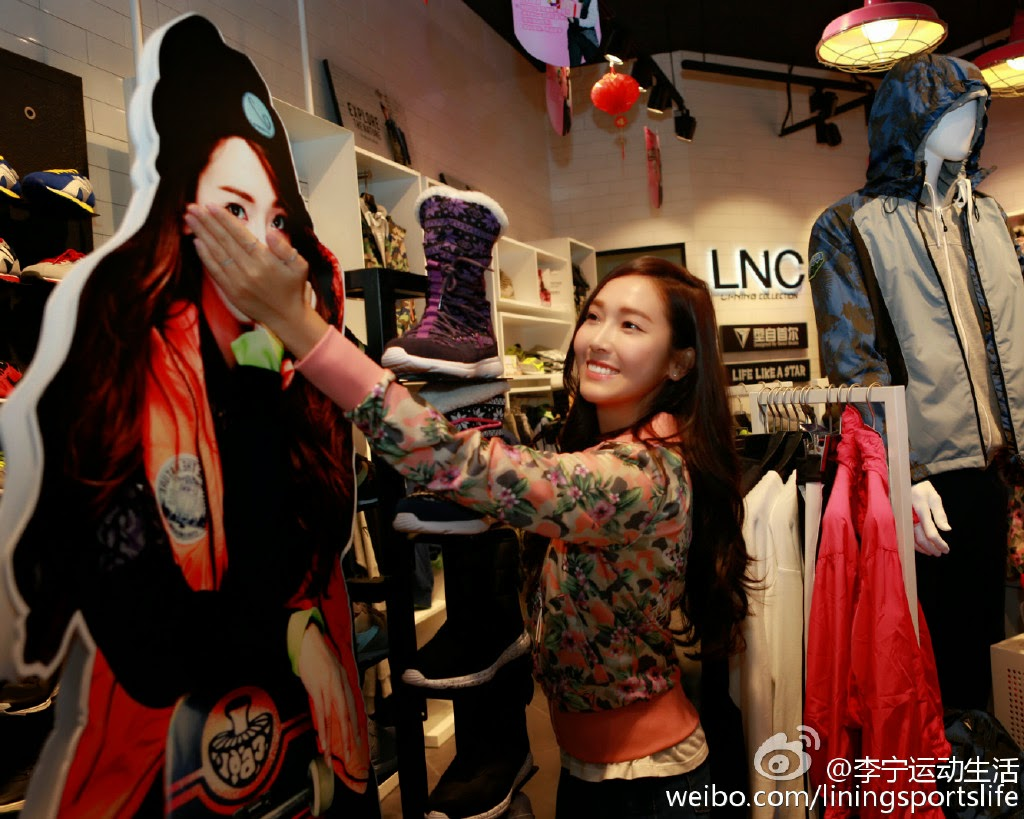 [150125] Jessica para Li-Ning - Fansigning Event 02