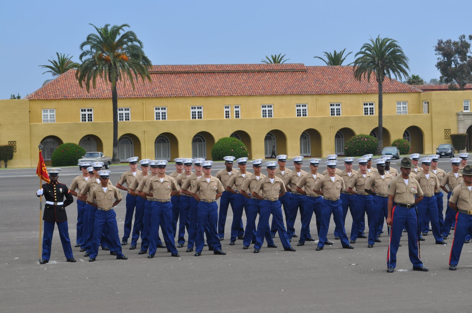 Marine Boot Camp Graduation