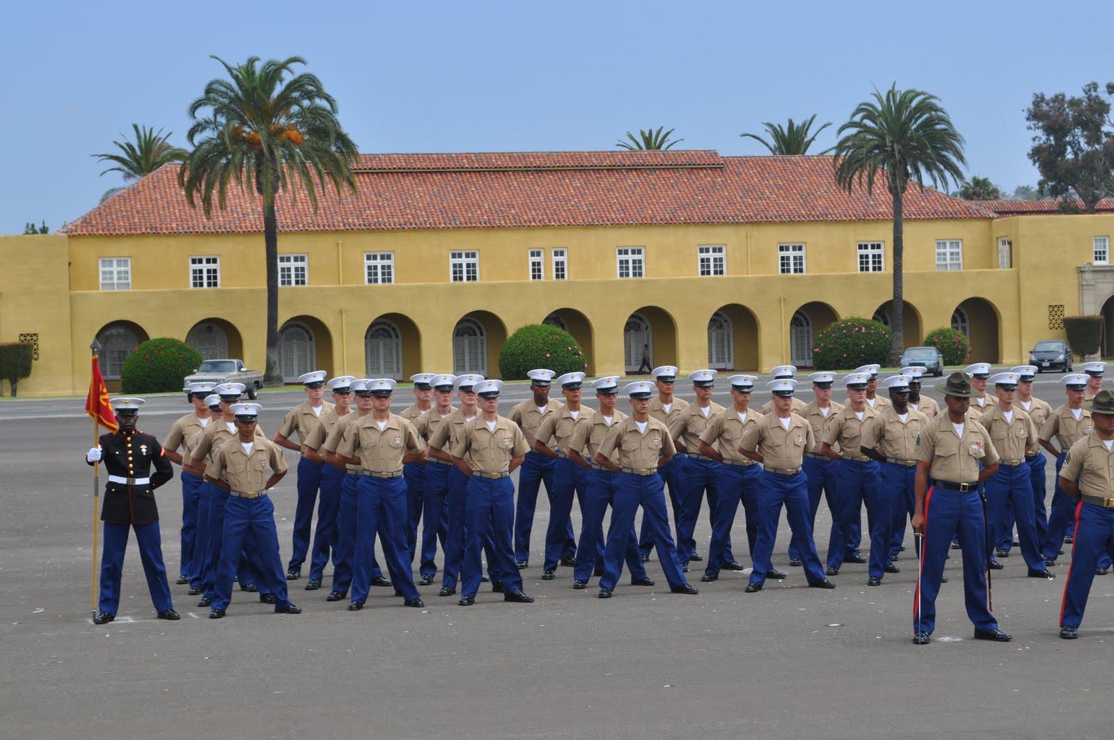marine recruit mom family daygraduation