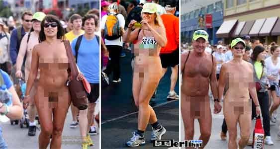 Bay To Breakers Kejuaraan Balap Lari Telanjang (Amerika)