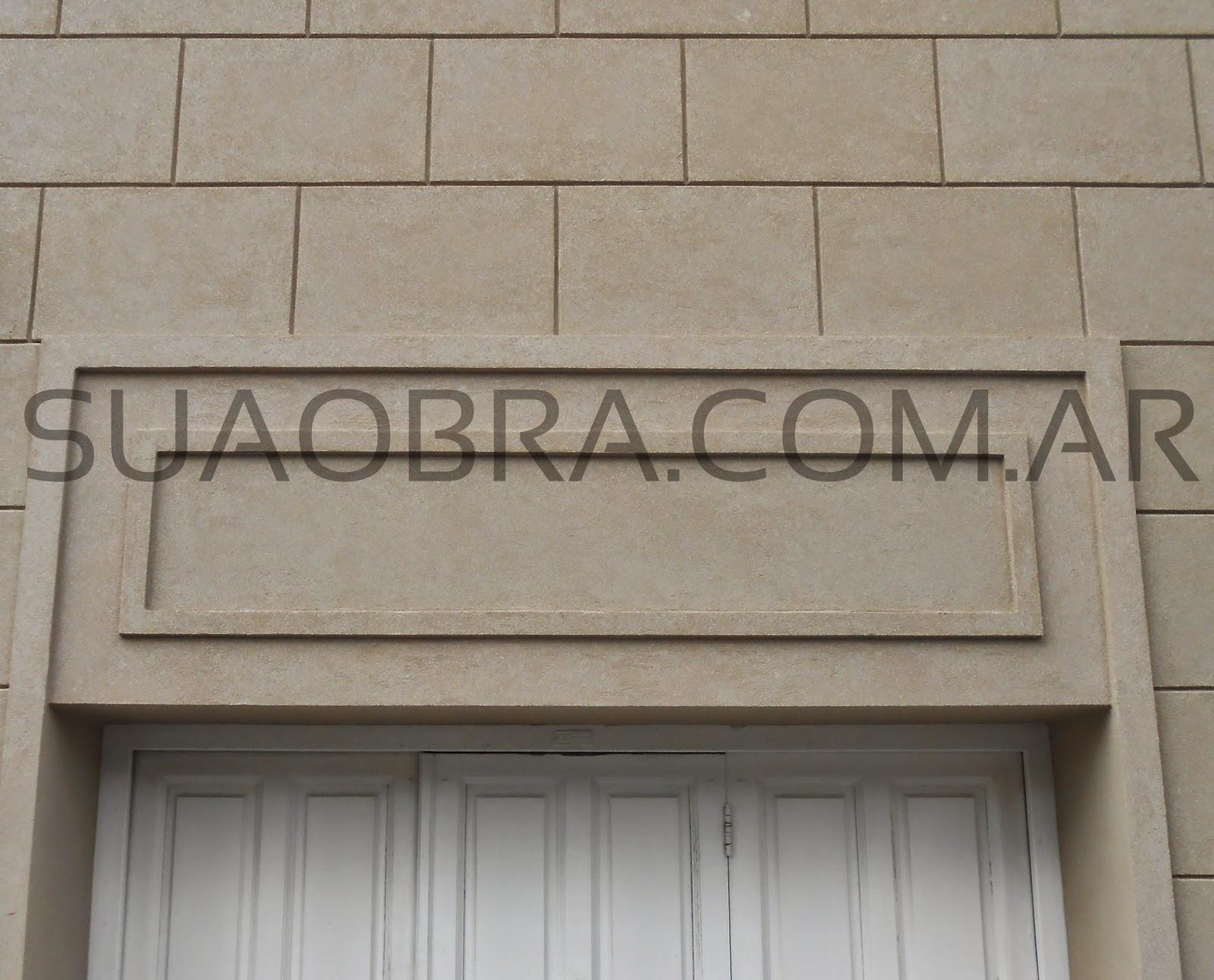Revestimientos plasticos por suaobra com renovaci n de - Piedra fachada exterior ...