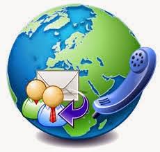 :contact us وسائل التواصل معنا (الإنترنت-الموبيل)