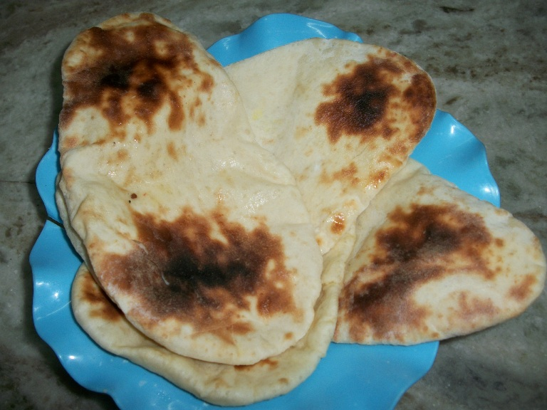how to make butter naan in oven