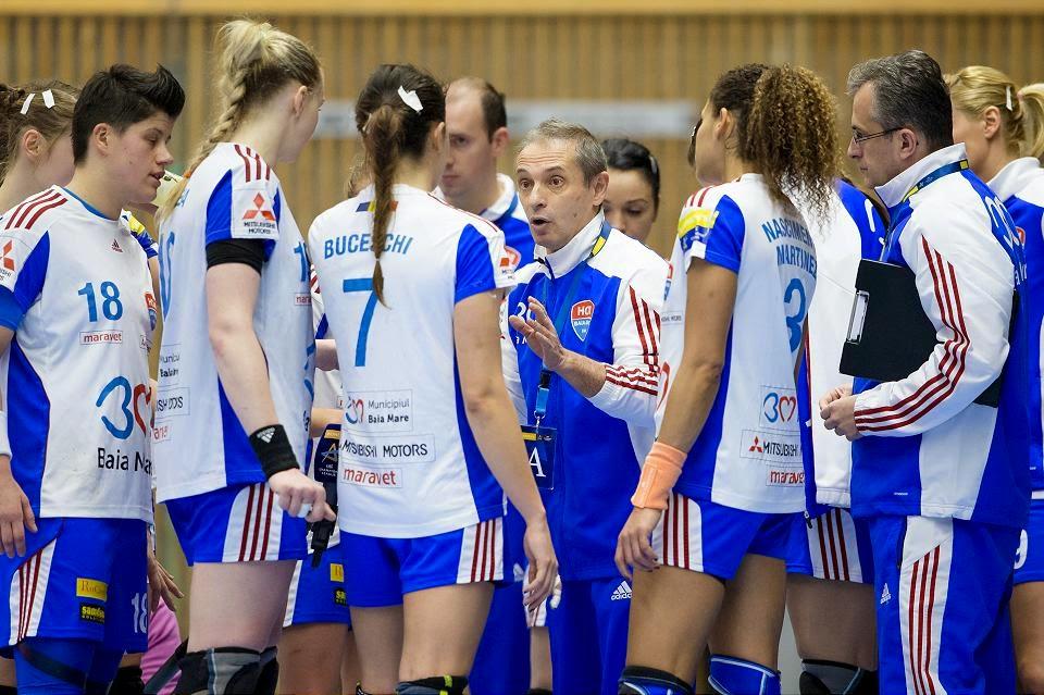 HCM Baia Mare-Dinamo Volgograd - sâmbătă 4 aprilie, ora 18:00, în direct pe Dolce & Digi Sport