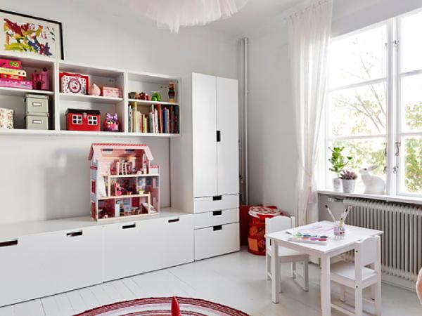 Almacenamiento para ni os con la linea stuva de ikea oasisingular - Ikea mobiliario para ninos ...