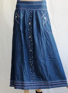 Rok Jeans Cantik Murah RM340
