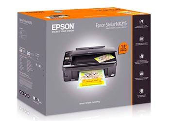 Epson Stylus NX215 Adjustment program