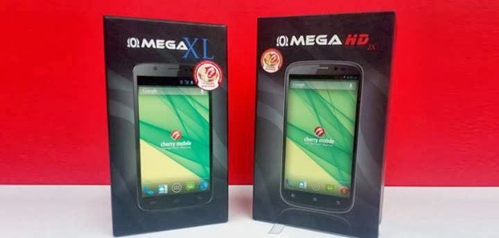 Cherry Mobile OMEGA XL and Cherry Mobile OMEGA HD 2X