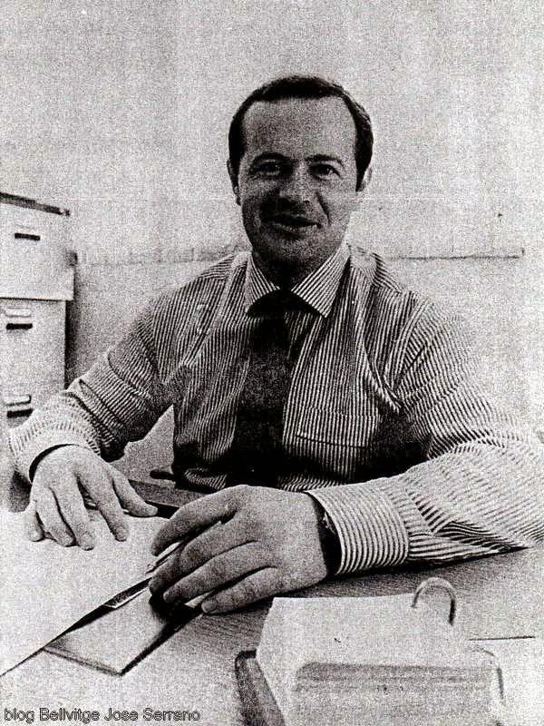 Sergio Manzano, Presidente de Bellsport en 1991