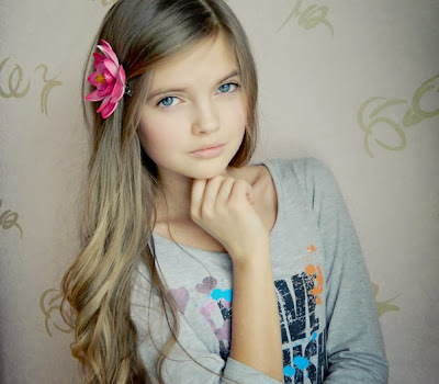 Cute Russian Teen Model Alina S