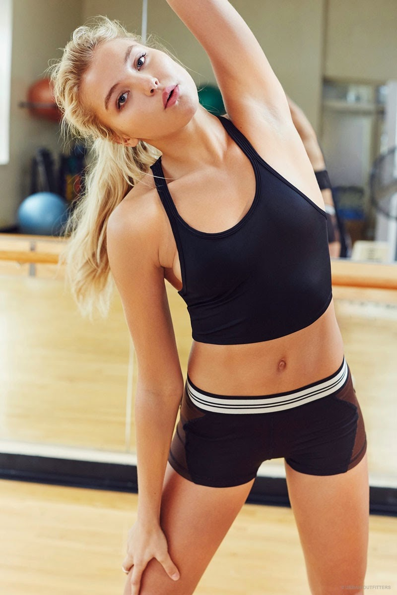 Urban Outfitters Active Wear Lookbook 2015 featuring Rachel Hilbert