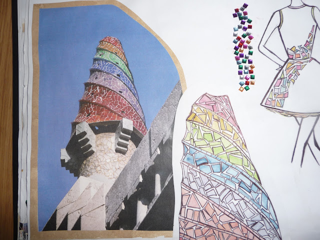 Antoni Gaudi Inspired Fashion Designs