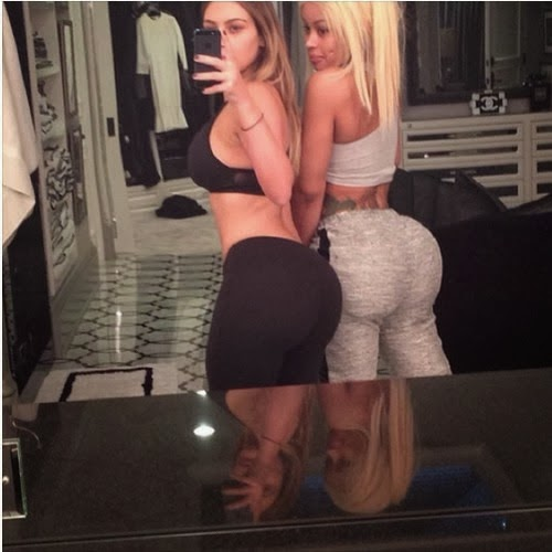 Butt implants kardashian kim
