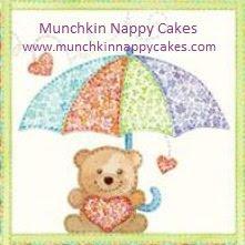 3. MUNCHKIN NAPPY CAKES