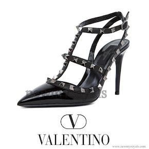 Princess Medeleine Style Valentino Rockstud Shoes