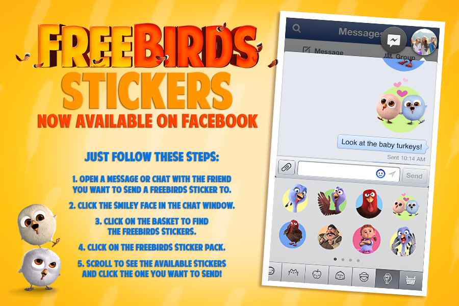 Free Birds on Facebook